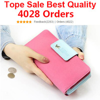 Spring 2014 Women Brand Wallets Famous Designer PU Leather Purses Ladies Multi Colors Women Wallets Free Shipping