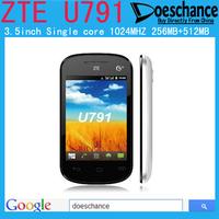 Original ZTE U791 Dual SIM Android 2.3 Cheap smartphone elder phone student phone