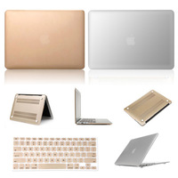 Super Cool! The Latest Champagne Gold Silver Sleeves Covers Cases for Macbook air 11 13 pro 13 15 retina 13 15