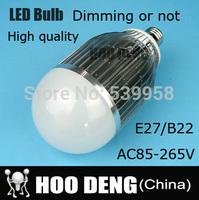 1PCS High brightness E27 B22 LED Bulb Lamp 25W 30W 40W AC85 220V  Cold white/warm white Cree Led bulb free shipping