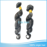 Factory Price Virgin Brazilian Hair Loose Wave Human Hair Weaves 5pc/lot Free Shipping Double Weft Raw Hai Bundles Top Quality