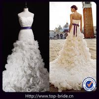 Top-bride Real photo Venice High End Wedding Dresses 3 luxury Elegant wedding Dress