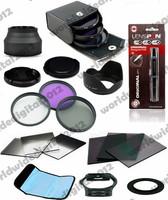 72 MM FLD CPL UV Lens Filter kit for Canon CAMERA LENS + 72MM Ring Adapter ND2 4 8 Gradual Grey Filter Set r for Cokin F9
