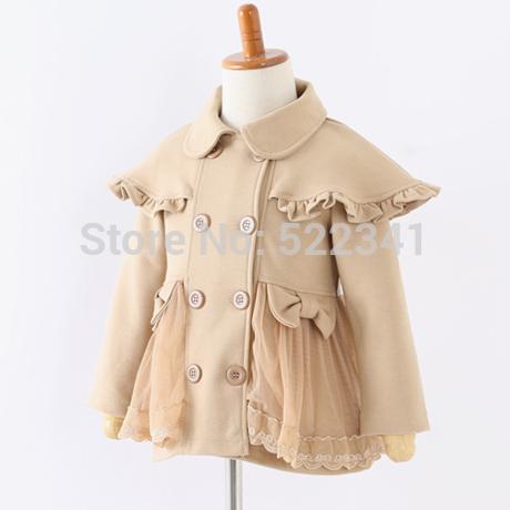 Hot sale! Girls cardigan jackets, children spring outerwear, kids autumn coats girls winter coat, pink and khaki jacket(China (Mainland))
