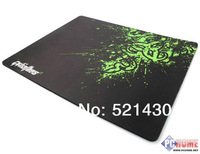 Over size/ultralarge table mat thickening Razer mouse pads Big 350x440x4mm Black laptop Computer LOL cf cs/Dota Game Mousemat