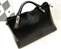 2015 New Fashion Crocodile Grain Women Handbag Alligator Women Messenger Bags Europe America Designer Ladies Shoulder Bags