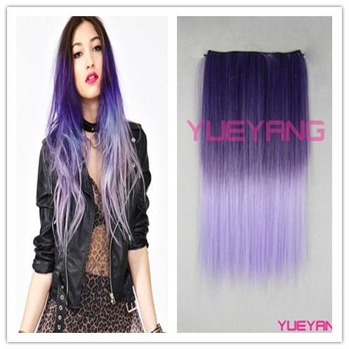 Ombre hair color purple pictures