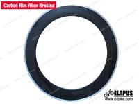 carbon wheels carbon alloy rim 80mm carbon rims with alloy braking surface