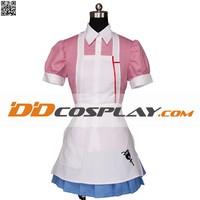 Super Danganronpa 2 Sayonara Zetsubo Gakuen Mikan Tsumiki Maid Costume Cosplay Costume