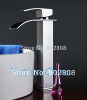 Hot selling,Free shipping basin faucet, bathroom faucet ,basin mixer , basin tap,waterfall faucet YT-5030