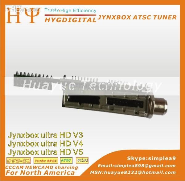 JynxBox ATSC Tuner Module For JYNXBOX ULTRA HD V5 and jynxbox ultra hd v2 Free Shipping(China (Mainland))