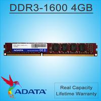 Brand ADATA RAM Memory DDR3 4GB ddr3 ram 4 gb 1600MHz 240Pin Unbuffered DIMM PC3 12800 1333 Compatible For Desktop PC Computer