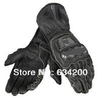 Top GUA. FULL carbon fiber titanium alloy titanium alloy METAL RS all cowhide top racing gloves