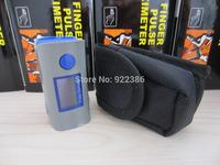 + black bag Fingertip Pulse Oximeter, Blood Oxygen SpO2 saturation oximetro monitor oxymetre pulsometros saturimetro