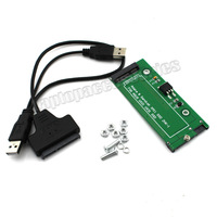 """New For Asus UX31 UX21 ADATA XM11 xm11zzb5 SSD 2.5"""" Replacement Parts SATA Adapter Card USB SATA Cable (A81)"""