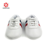 1Pair New 2014 White Baby Boy Shoes First Walkers Bebe Shoe Sport Tennis Sneakers Sapato Infantil -- PR42 ZYS43 ST Wholesale