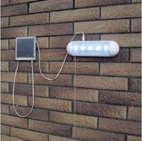 Solar Lamps Solar Power Energy Saving 5 LED Spot light Outdoor Garden Yard Wall Lights Street Porch Emergency Lamp light Bulb