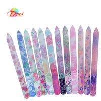glass nail file 10Pcs/lot nail tools Durable crystal file new design glass nail buffer for nail art FREE SHIPPING