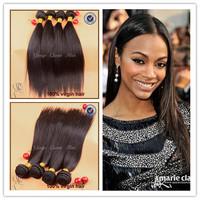 "ms lula hair brazilian virgin hair straight 4pcs free shipping submissive brazilian human hair weave 8""-30""inch hair extension"