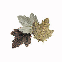 wholesale 2014 fashion high quility three colors sale leaf brooch for women free shipping M087