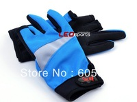 Wholesale 24pair/1lot outdoor fishing tournament fishing gloves slip gloves tarps night fishing off three fingers Gloves