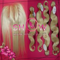 Fashion nicki minaj Hair,Mix Length 613 color  Brazilian Hair Weaves 3Pcs with Three/Middle Part/Free Style Lace closure 4Pcs