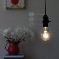 Nostalgic Creative Brief Edison E27 Hanging Line Bulb Vintage Pendant Lights Bar Club Braided Cord Lamps Decoration Linghting