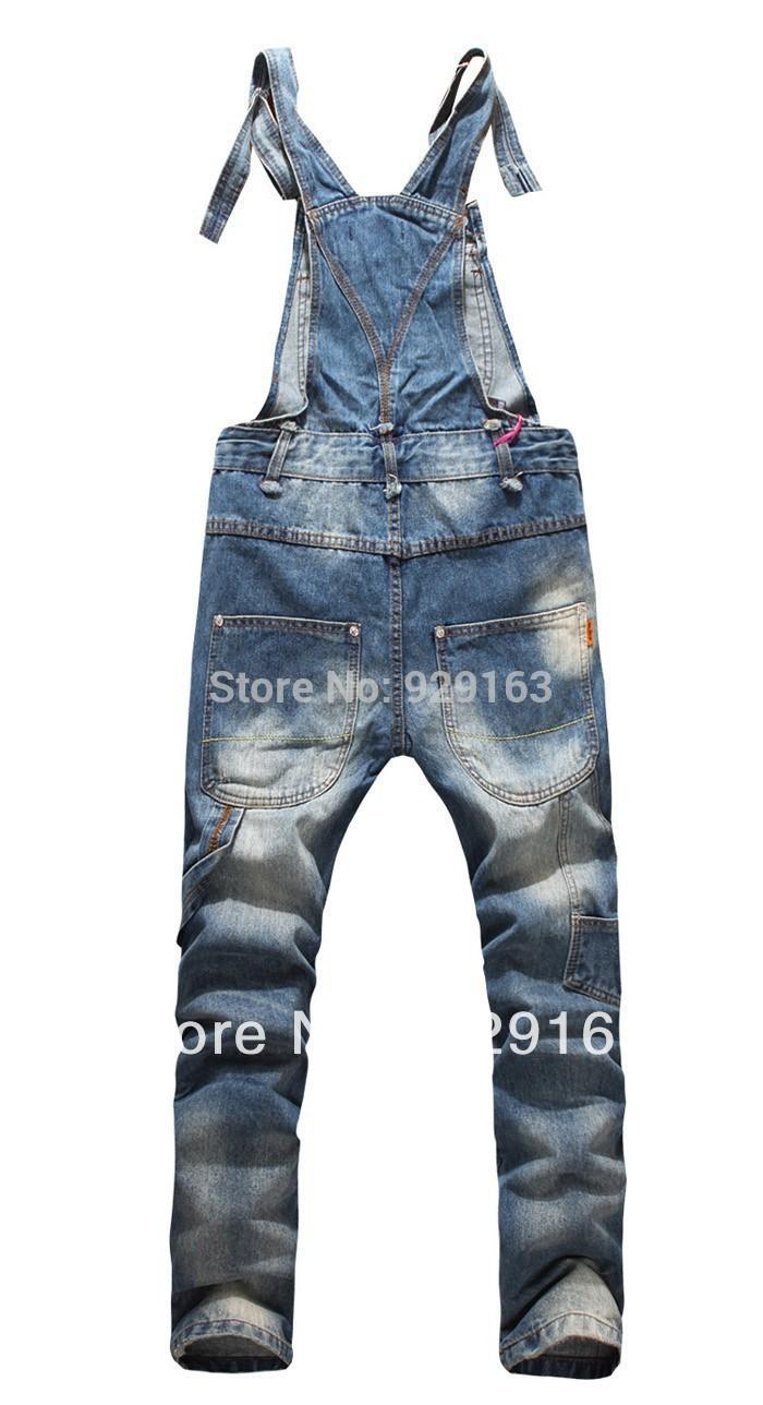 Jeans Bib Overalls Man Foto 66