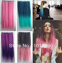 rainbow hair extension promotion