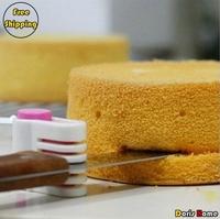 Free Shipping New Plastic Kitchen Tool Cake Wafer Breaker Layering DIY,2 Pairs