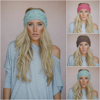 Knit braid Headband head wrap-Hand Knit - Cable Headband