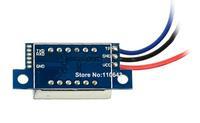 20pcs/Lot Wholesale DC 0-100V Hot Red LED Panel Meter Volt Voltage Meter Mini Digital Voltmeter TK1215
