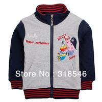 Free shipping 5pcs/lot children clothing boy jackt boy cartoon winter coat  boy cartoon outerwear