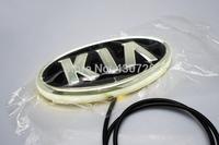 4D Cold light badge light for KIA Soul / Forte (front) / Cerato (front) cold light logo light for KIA Led Emblem Lamp