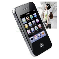 """Hot Sale Fashion 2.8"""" 8GB Touch Screen I9 4Gen Style Mp3 Mp4 Player with Camera Supports TF Card /MicroSD card"""