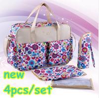 Hot Newest Baby bag Diaper bags bolsa maternidade nappy wet changing bags bolsa de bebe para women's messenger bags fashionable