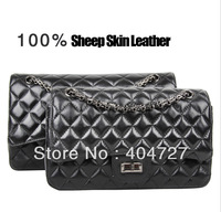 Korean Style 100% Sheepskin Lady's Day Clutches Bags Totes bag Shoulder Bag Evening bags Fashion Handbag Free Shipping
