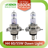 XENCN New H4 12V 60/55W P43t 8411BDNL 4500K X-treme Vision More Bright Car Headlights UV Glass Halogen Auto Bulbs Free Shipping