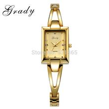 Grady japanese movt quartz watch stainless steel back 3atm water resistant women dress watch