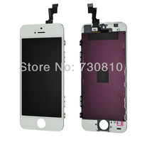 White Full Front Touch Screen Digitizer LCD Display Repair Assembly for iPhone 5S
