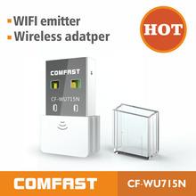 Hot selling New Brand Comfast 150Mbps Mini USB adapter N 802.11 b/g/n High Gain Wireless Wi -Fi Network free shipping(China (Mainland))