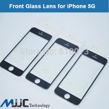 Передняя жк-экран стеклянный объектив внешний стекла ремонт замена для iPhone 5 5с 5S 5 г передняя внешний экран объектива