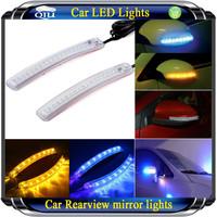 led Car decoration Light turn signal mirrors general led turn lamp led strip Free shipping