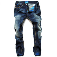 HOT SALE Free Shipping retail(1piece) fashion 2013 high quality Nostalgic retro beggar hole cotton DI brand men's jeans #8876