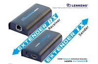 LenKeng LKV373 HDMI Extender Over Ethernet LAN RJ45 CAT5E CAT6 For HD 1080P DVD PS3 up to 120M + free shipping