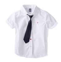 wd7 school uniform 2-13 age boys shirts brand boy shirt with tie1pc retail free shipping
