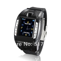 "Unlocked GSM F3 Watch Cell Mobile Phone 1.3"" Touch Screen Camera Bluetooth Sports Pointer Triband Mp3 Mp4 Player watch phone"