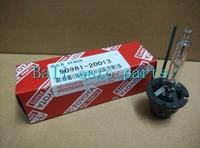 Free shipping  90981-20013 9098120013 D4S 4300k 5000K 6000K 35W HID Xenon Bulb for TOYOTA Wish Reiz Camry Previa Land Cruiser