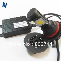 Free shipping 9007 LED Headlight  50W High Power Car front Headlight 5500K Hi/Lo LED Headlight 1800LM with Cree CXA1512 Chip