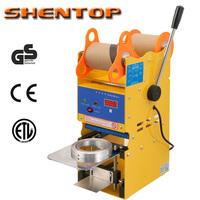 SHENTOP Digital Manual Cup Sealing Machine bubble tea sealing machine bubble tea machine ST-QF02-S